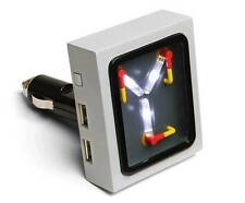 Flux Capacitor USB Car Charger Back to The Future NEW FREE SHIPPING BTTF GIFT