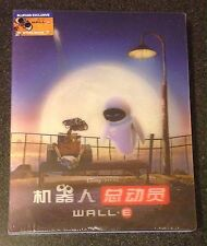 WALL-E Blu-Ray SteelBook 2-Disc Lenticular Blufans China Exclusive New OOP Rare!