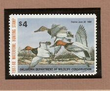 OK8 - Oklahoma State Duck Stamp.  MNH. OG.