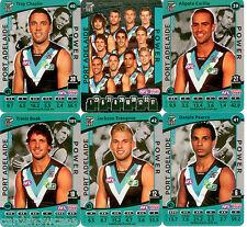 2012 AFL Teamcoach Silver Team set Port Adelaide (12)