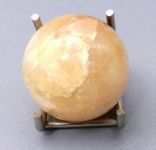 SPHÈRE PIERRE DURE - CALCITE ORANGE- 40 mm / 85 g ****