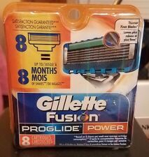 Authentic Gillette Fusion ProGlide Power Refill 8 Cartridges