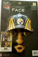 NEW PITTSBURGH STEELERS NFL FOREST FACE WALL & TREE YARD DECORATION