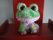 Ty Beanie Boo KIWI the frog 6  inch NWMT. VERY RARE. RETIRED AND HARD TO FIND.