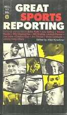 GREAT SPORTS REPORTING - JOHN UPDIKE, PAUL GALLICO, RED SMITH, E B WHITE, MORE!