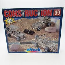 Eitech Metal Jeep Construction Building Set C-09 Truck, 446 pc *with Extras!*