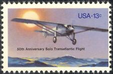 USA 1977 Lindbergh/Plane/Aircraft/Aviation/Transatlantic Flight 1v (n23865)