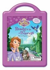 BRAND NEW SEALED Book & Magnetic Play Set : Princess - Disney Sofia the First