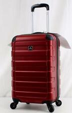"""TAG MATRIX 20"""" HARDSIDE SPINNER CARRY ON SUITCASE RED"""
