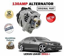FOR LEXUS LS430 4.3 UCF30 7/2003 - 8/2006 NEW 130AMP ALTERNATOR UNIT