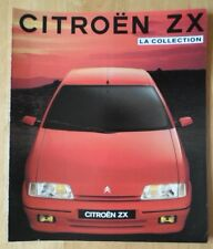 CITROEN ZX range 1991 French Market sales brochure