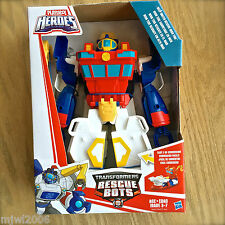 "Transformers RESCUE BOTS DEEP WATER HIGH TIDE 12"" Playskool Heroes Boat Robot"