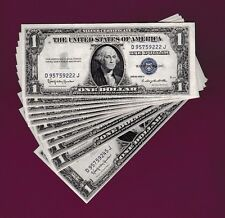 BUY ONE GEM OF 24 Fr.1618  $1 1935 H  SILVER CERTIFICATE NOTE D 95759222 TO 45 J