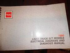 1990 GMC Light Truck S/T Wiring Diagrams + Diagnosis