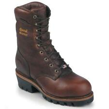 "Chippewa Men's Super Logger 9"" Insulated Steel Toe  Work Boots 25420 9 E"