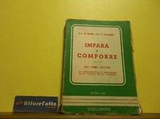 ART L1242 LIBRO IMPARA A COMPORRE - COLOMBO - ANNO META DEL 900