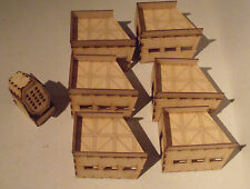 Military building - Defense line G - scenery terrain for warhammer 40k wargames