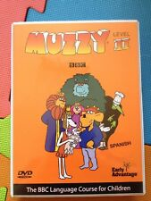 Muzzy Spanish Language Course Level 2(5xDVD+PC/Mac CD)+book BBC II New+Sealed