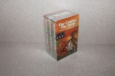 Our Country Our Songs Tribute to American Dream NEW SEALED 3 cassettes