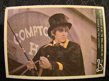 Vintage The Monkees Raybert Trading Card 1967 12 A Davy Jones Top Hat TV Show
