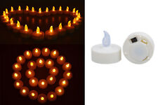 50 Flickering Flicker Flameless LED Candles Wedding Party Tea Home Decor Light