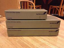 StarTech DVI Video Splitter ST124DVI  (Lot of 3)  2-4 port 1-2 port