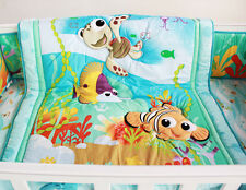 NEW Baby Cot Bedding Sets 7 PCs - Quilt Bumper Fitted Sheet 127-7