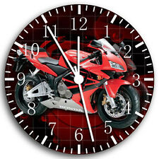 "Honda Motorcycle Wall Clock 10"" will be nice Gift and Room wall Decor W45"