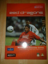 2005/6 WREXHAM V DONCASTER ROVERS - LEAGUE CUP