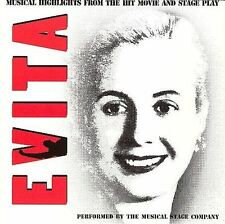 FREE US SH (int'l sh=$0-$3) NEW CD : Evita: Musical Highlights from the Hit Movi