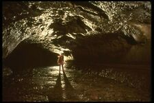 194092 Lava Tube Cave Washington A4 Photo Print