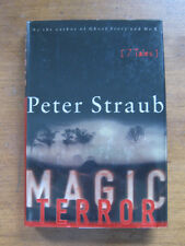 SIGNED - MAGIC TERROR by Peter Straub  1st/1st  HCDJ 2000  -  Stephen King