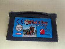 Pferd & Pony, lass uns reiten 2 für Nintendo Game Boy, geprüft.
