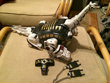 Power Rangers Deluxe original megazord Titanos nice set with chain & sledges