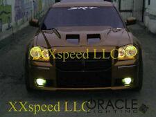 ORACLE Dodge Magnum 2008 AMBER LED Headlight + Foglight Halo Angel Eyes Kit