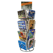 Postcards stand Counter Card racks 16 Compartments 150x105 mm Crosswise and High