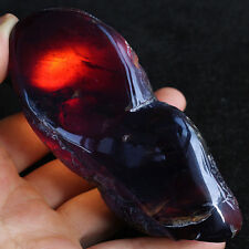 116.2g 100% Natural Polished Mexican Blue Amber Collection Specimen YPB289