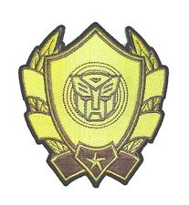 """Transformers Iron-On Patch 3 1/2"""" x 3 3/4"""" Licensed PCH-TFP0143 Free Shipping"""