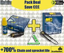 Scottoiler Pack-V sistema & Doble Inyecto-Suzuki DL 650 V-Strom ABS-un 2014