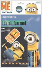 New Minions Character Mini Colouring Pad Kids Child Educational Toys 30 Pages