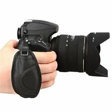 Leather Hand Grip Strap Compatible with Nikon D5000 D5100 D7000 D90