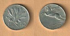 MONETA  DA LIRE 10 (VECCHIO TIPO) ITALMA  - ANNO 1948 -   BB - MOLTO BELLA -N.30
