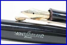 1954 excellent MONTBLANC 3-44 G torpedo shaped fountain pen OBB 585 gold nib