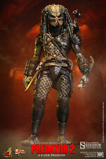 Sideshow Collectibles Hot Toys Elder Predator 2 1/6 Scale New in Box USA Seller