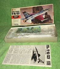 1987 NOS Hasegawa  General Dynamics YF-16/CCV U.S. AIR FORCE CCV TEST BED  1/72