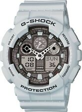 Brand New Casio G-Shock GA100LG-8A Ice Gray Analog Digital Men's Watch NWT!!!