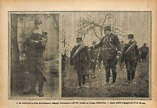 Poilus Comte de la Fitte de Pelleport Soldats Engagés War WWI 1915 ILLUSTRATION