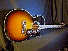 Epiphone EJ-200SCE  Stereo/Acoustic/Electric Guitar KING of The Flat Tops L@@K