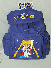 "NEW WITH TAGS  PURPLE SAILOR MOON  BAG TRAVEL BACKPACK 12"" X 9"" X 4 1/2""  #2"
