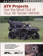 NEW BOOK ATV Projects: Get the Most Out of Your Vehicle by Len Nelson